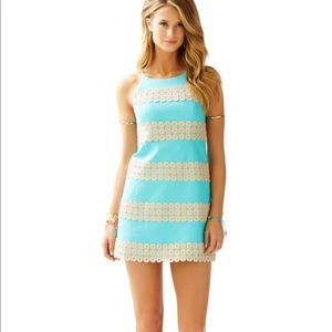 Lily Pulitzer Annabelle Shift Dress Turquoise 351